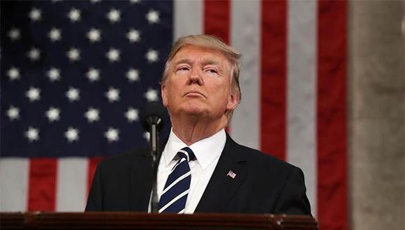 El juicio político contra Donald Trump comenzará la semana del 8 de febrero. (Foto: EFE).