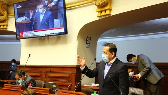Congresista José Vega, vocero de Unión por el Perú. (Foto: Congreso)