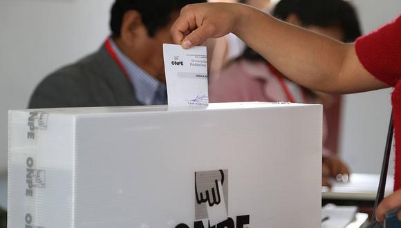 La ONPE realizó las elecciones internas en siete partidos políticos que eligieron a sus candidatos por votación directa. (Foto: GEC)