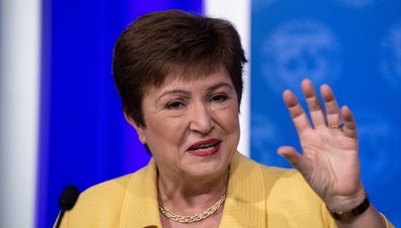 Kristalina Georgieva - FMI. (Foto: AFP)
