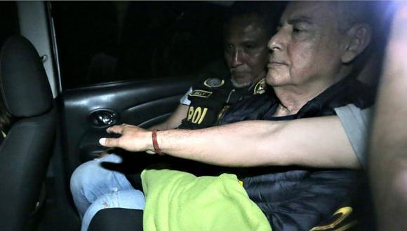 César Villanueva fue detenido por presunto tráfico de influencias y patrocinio ilegal. (Foto: GEC)