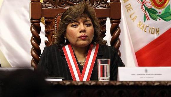 Zoraida Ávalos, Fiscal Suprema. (Foto: USI)