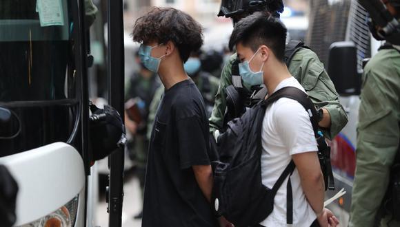 """Desde una asociación de defensa de abogados chinos que prefiere permanecer en el anonimato explican que las leyes chinas están redactadas de manera muy vaporosa e indefinida, lo que da pie a una amplia interpretación en la que se escudarían las autoridades para casos relacionados con la """"seguridad nacional"""", como la """"subversión"""". (Foto: AFP)"""