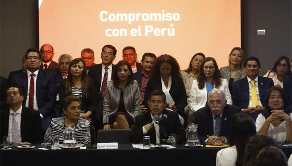 Fuerza Popular expresó sus condolencias por fallecimiento del ex presidente Alan García. (Foto: Piko Tamashiro / GEC)