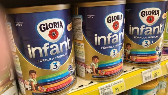 Leche Gloria Infant. (Foto: USI)