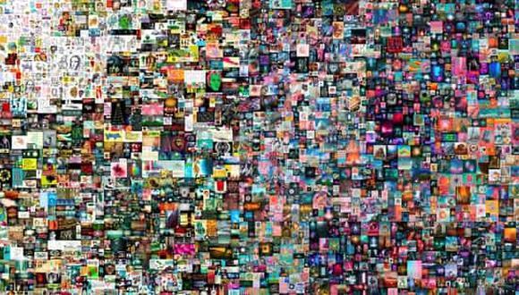 Se trata de un collage de 5,000 imágenes individuales, que se realizaron a lo largo de más de 13 años. (Foto: Reuters)