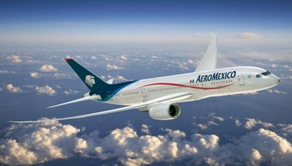 Grupo Aeroméxico. (Foto: Bloomberg)