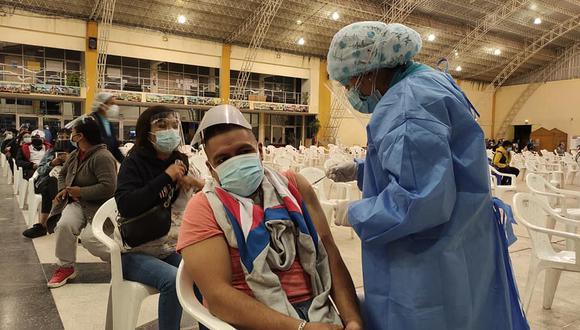 Algunos vacunatorios de la región Junín todavía lucen vacíos. (Foto: Diresa Junín)
