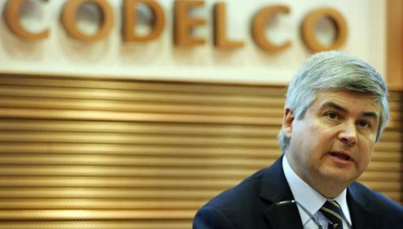 Octavio Araneda, presidente ejecutivo de Codelco.