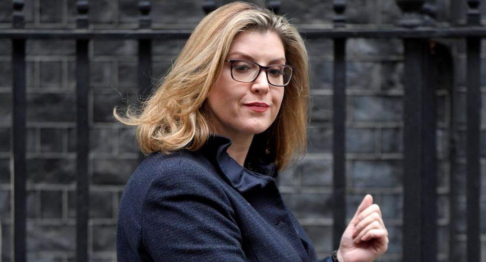Penny Mordaunt: Es la primera mujer en ocupar la titularidad en Defensa y es vista como una figura al alza dentro de las filas conservadoras. (Reuters)