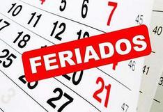Estos son los feriados y días no laborables del año 2021 en Perú