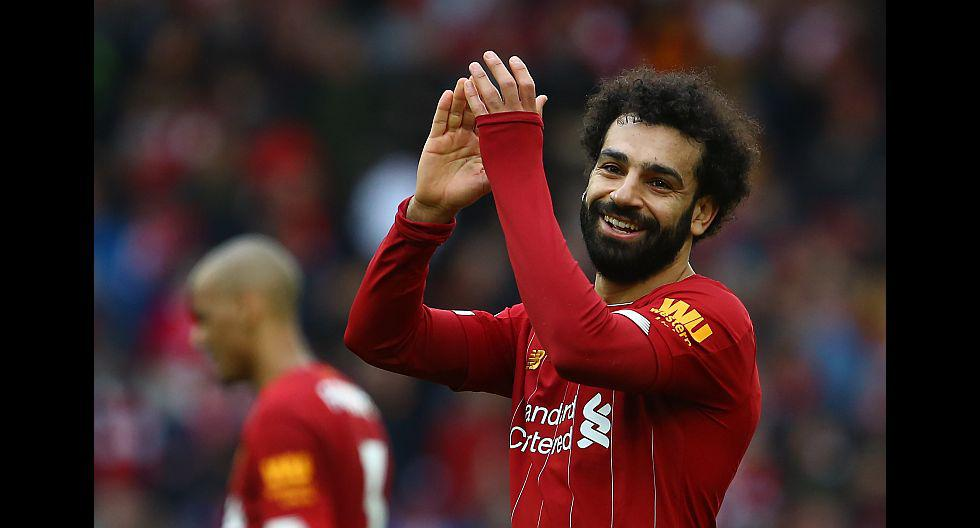 10. Mohamed Salah. Gana por publicación: US$180,000 (153,000 euros). Seguidores en Instagram: 39.6 millones. (Foto: AFP)