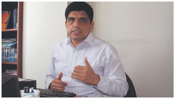 """""""Yo no estaba seguro [en el cargo], estaba propuesto, pero no estaba seguro"""", señaló Juan Carrasco. (Foto: GEC)"""