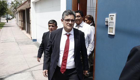 """""""¿Realmente tenemos autonomía o independencia con Pedro Chávarry y los otros fiscales supremos vinculados a los Cuellos Blancos en el Ministerio Público?"""", se preguntó Pérez. (Foto: GEC/ Video: Canal N)"""