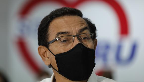 Martín Vizcarra es investigado por la Fiscalía por las presuntas coimas que habría recibido del Club de la Construcción cuando era gobernador regional de Moquegua. (Foto: GEC)