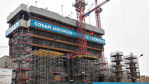 Cosapi evitó pronunciarse sobre los hechos. (Foto: GEC)