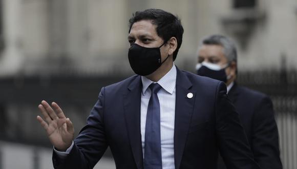 Luis Valdez fue legislador por APP en el último periodo congresal. (Foto: Antonhy Niño de Guzmán/GEC)