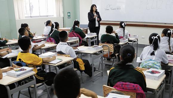 Mayor oferta educativa. Según el estudio, Lima norte y Lima este tienen la mayor oferta educativa. (Foto: GEC)