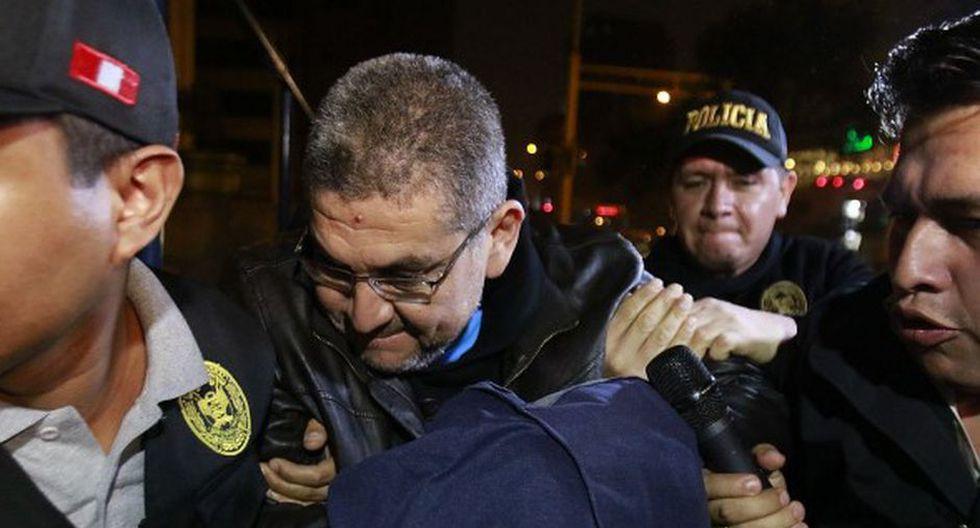 Walter Ríos cumple actualmente una orden de 18 meses de prisión preventiva en el penal Ancón I. (Foto: GEC)