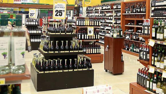 Bebidas. Consumo en casa impulsó ventas en supermercados. (Foto: GEC)