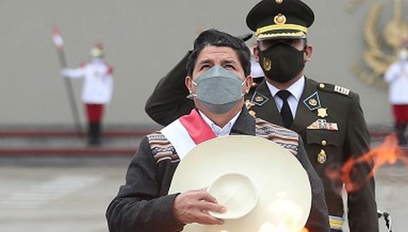 Pedro Castillo, presidente de la República (Foto: Presidencia Perú).