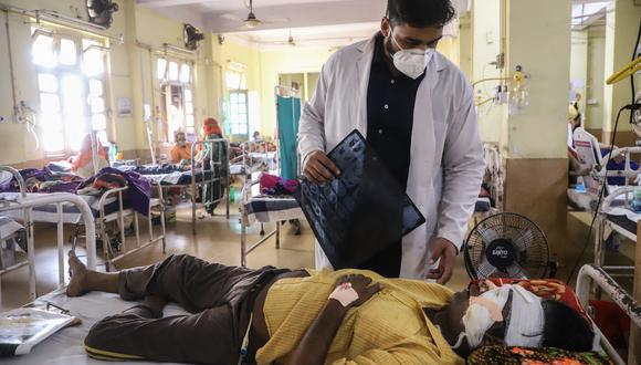 Pandemia en la India. (Foto: AFP)