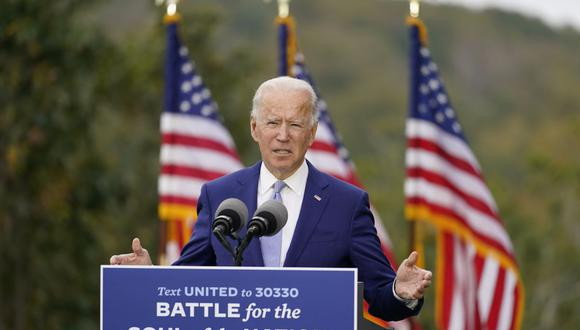 ¿Ha prometido Biden más de lo que puede cumplir? Él cree que no. (Foto AP / Andrew Harnik, archivo).