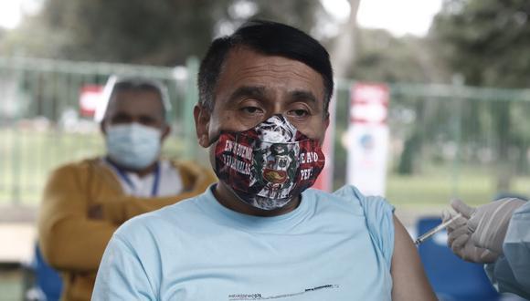 En el Perú se aplican dos dosis de vacunas. (Foto: César Campos / @photo.gec)