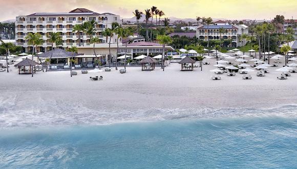 El turismo es un negocio que requiere mucho carbono, especialmente si se trata de viajes aéreos, pero también es el elemento vital del Caribe y constituye una gran parte de la economía de Aruba.