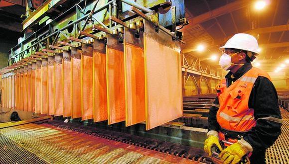 Goldman Sachs elevó esta semana su objetivo de 12 meses para el cobre a US$ 11,000 la tonelada. (Foto: GEC)