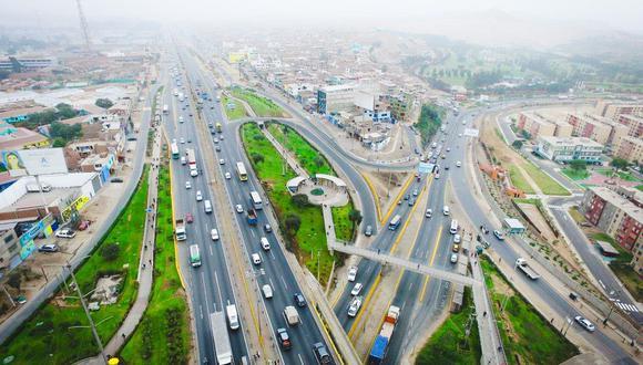 La concesionaria Rutas de Lima tiene a su cargo las vías Panamericana Norte y Sur dentro de Lima Metropolitana. (Foto: Difusión).