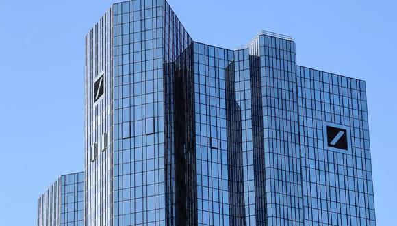 La sede del banco Deutsche Bank en Fráncfort, Alemania, el 4 de febrero de 2021 Armando Babani AFP/Archivos