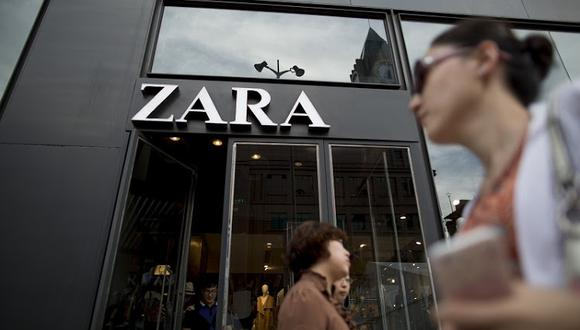 Inditex es dueña de la marca Zara. (Foto: Bloomberg)