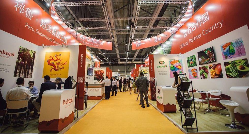 Perú ha estado presente en la Asia Fruit Logistica desde el 2008, pero este año, en su primera participación como País Invitado de Honor, asistieron 250 empresarios que generaron 637 nuevos contactos y compromisos comerciales por US$ 180 millones.