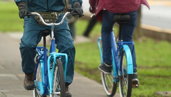 La bicicleta es el medio más usado como alternativa al auto.