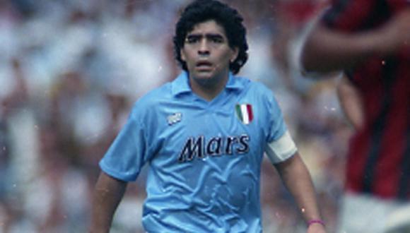 Diego Maradona jugó siete años para Napoli | Foto: EFE