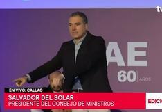 """Del Solar: """"Tenemos que dejar de lado las ideas que buscan separarnos"""""""