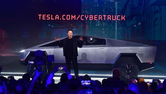 Elon Musk presentó el Cybertruck en noviembre del 2019.
