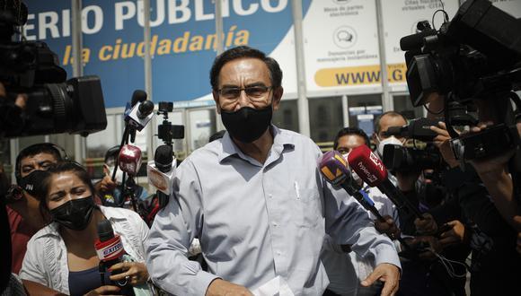 """""""Continuaré participando en las comisiones a las que se me convoque"""", señaló Martín Vizcarra. (Foto: GEC)}"""