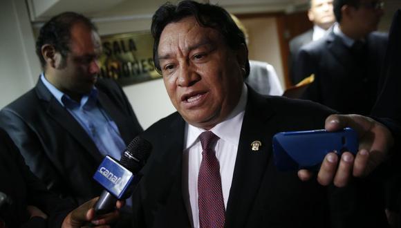 Según la imputación del Ministerio Público, José Luna Gálvez sería el líder y financista de la red criminal. (Foto: Luis Gonzales / GEC)
