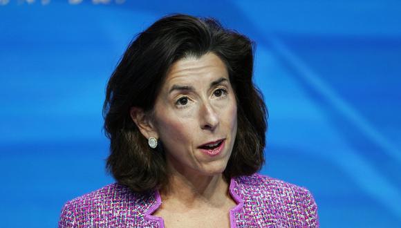 Gina Raimondo. (Foto: AP)