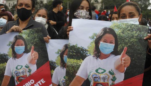 """Marcha """"Respeta mi voto"""" se desplaza por las calles de Lima. (Foto: Geraldo Caso / @photo.gec)"""