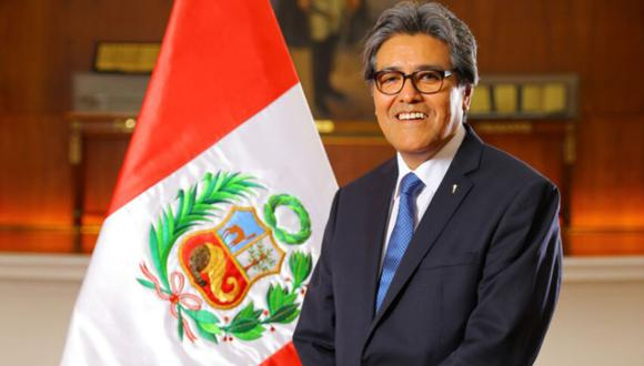 Abel Salinas, ministro de Salud. (Foto: Presidencia)