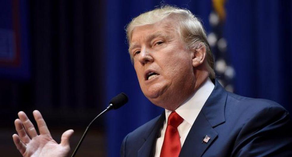 El mandatario de Estados Unidos, Donald Trump. (Foto: EFE)