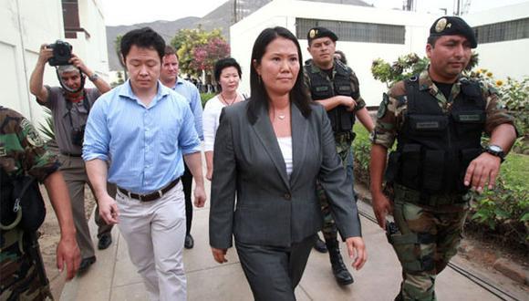 Imagen de archivo. Kenji y Keiko Fujimori se encontraban distanciados desde hace varios años. (Foto: Agencia Andina)