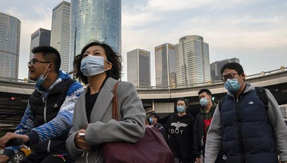 El Gobierno chino ha rechazado rotundamente acusaciones de Estados Unidos y de otros gobiernos occidentales de que ocultó deliberadamente información relacionada con el virus. (AP Photo/Mark Schiefelbein)