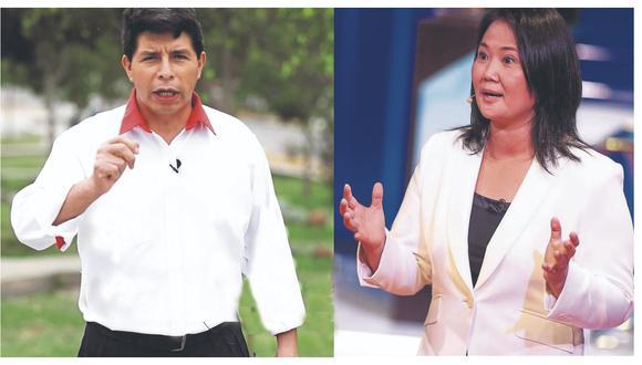 Elecciones 2021 | Castillo y Fujimori, un duelo antagónico por el futuro de Perú | PERU | GESTIÓN