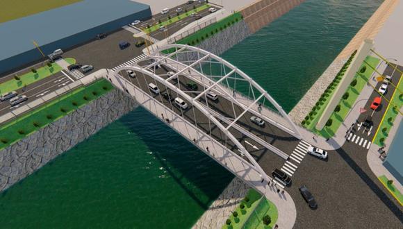 Obras públicas - Puente Morales Duárez  (MML)