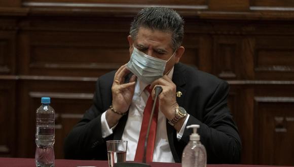 """Manuel Merino dijo que la situación de la vacunación en Chile es """"envidiable"""". (Foto: GEC)"""