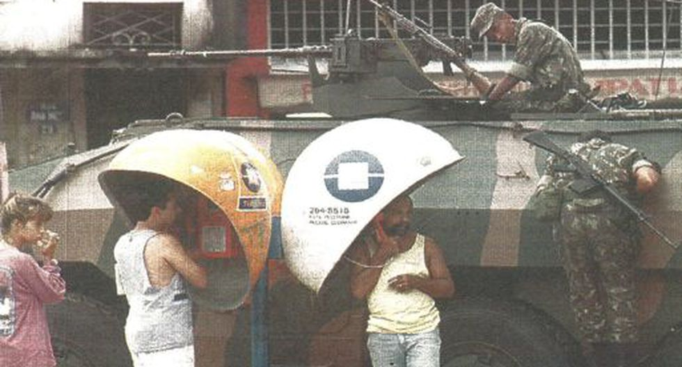 El ejército brasileño continúa sus operaciones en barrios marginales de Río de Janeiro como parte de su ofensiva contra las bandas de narcotraficantes. (Foto Reuter).